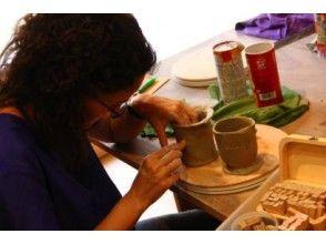 [東京表參道]在時尚的總和可以建立工作室全面的陶瓷作品! [手動一體成型一天的經歷教室]