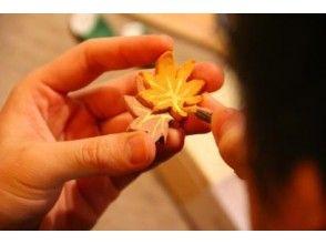 【東京・表参道】作務衣を着て日本の伝統工芸を体験![外国人旅行者向け/和の箸置き作り体験コース]の画像