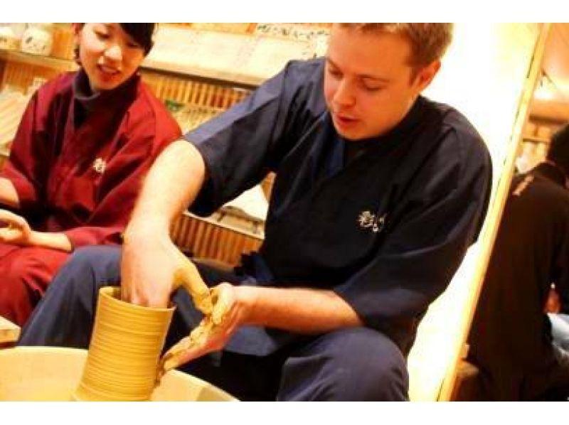 [千葉縣行德]穿著和尚的工作經驗,日本的傳統工藝品!引入圖像[外國遊客為/電動轆轤體驗課程