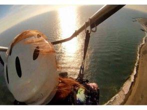 【静岡・天竜川】モーターパラグライダー体験タンデムフライト(30分コース)の画像