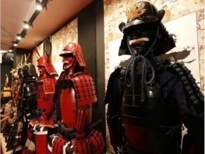 [Shibuya, Tokyo] Taste the samurai mood in the middle of the city! Armor experience ★ There photo service ★ image of