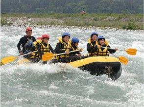 【富山・黒部川】富山7大河川を下る!黒部川ラフティング(半日コース)の画像