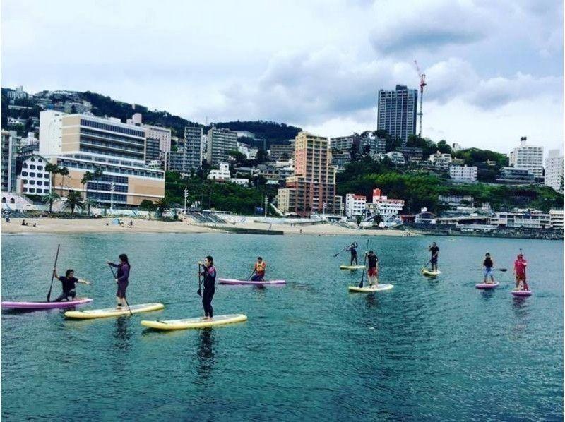 【静岡県・SUP体験】夏プラン!熱海でSUP体験したい方におすすめの90分コース!SUP体験の紹介画像