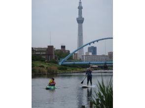 【東京・江戸川区】旧中川リバーカヤック&SUP体験ツアー【1時間】の画像