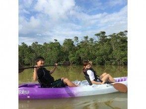[沖繩石垣島]悠閒,慢!紅樹獨木舟的圖像(90分課程)