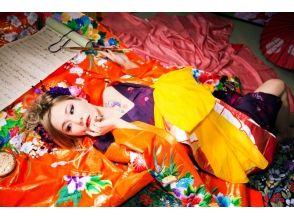 【奈良・花魁体験】髷を使わない現代風花魁「撫子プラン」特典2つ付き!の画像