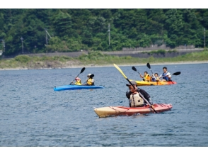 [Fuji Xi Lake] For beginners! Pictures of canoes or kayak tours (lessons / with certificate issued)