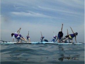 【千葉・富津海岸】穏やかな海でリフレッシュ♪SUPヨガ体験!の画像