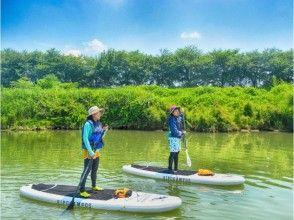 【京都・SUP体験】桂川SUP体験!アクセス良好で気軽に自然を満喫!(たっぷり2時間)の画像