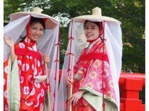 【広島・宮島】女子旅に人気!平安時代のおでかけスタイルに変身&宮島観光[平安壺装束プラン]の画像