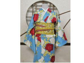【京都・嵐山】着物レンタルスタンダードコーディネートの画像