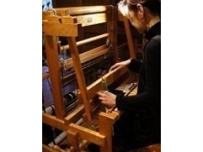 【Kagoshima · Aira】 Experience weaving in a gallery inside green! Image of [Create Original Mini Center]