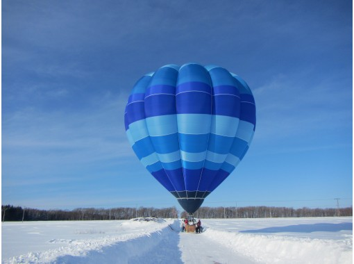 WEB限定・【北海道・知床】熱気球フリーフライト(搭乗記念品付き特別プラン)