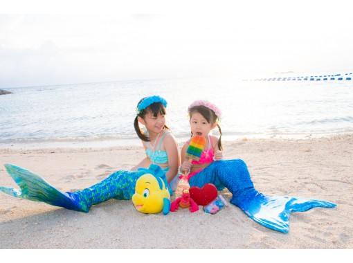 【沖縄本島】マーメイドフォト枚数無制限の高品質&最安値♪ 女性カメラマン♪データ付き