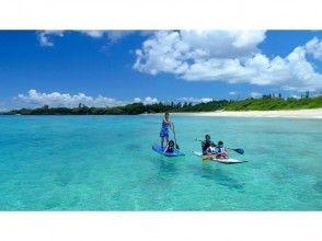 【沖縄・北部】1組貸切!!SUP+シュノ―ケリングで沖縄の海を満喫![SUPクルージングコース]の画像