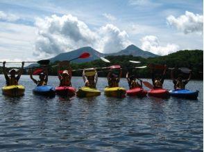 【福島・裏磐梯】曽原湖カヤック体験(一人乗り)の画像