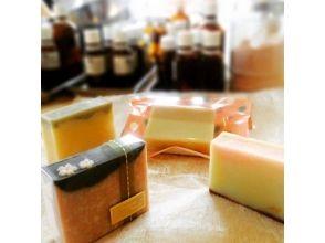 【Fukuoka / Hakozaki】 Seasonal feeling plenty. Image of making limited original soap on a monthly basis [Solid soap] image