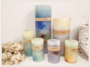 """[Osaka Umeda] For a full-fledged finish with volume! """"Gradation candle"""" making! A small Number of participants 5 minutes on foot from Umeda station, up to 6 people!"""