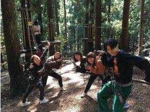 [Hyogo / Okugami Nabe] Adventure Course ★! Forest Adventure Okugami Nabe