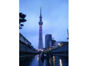 【東京・23区】スカイツリーナイトカヌーの画像