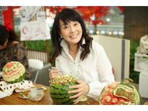 【東京・浅草】ちょっとした工夫で食卓を豪華に!食卓のデコレーション「ベジタブル/フルーツカービング」