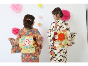 "[Ishikawa/ Kanazawa] Kimono Rental-the most recommended ""Kokoro Plan"" (with hair set) station is right away!"