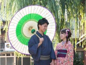【石川・金沢】着物レンタル金沢散策カップルプランの画像