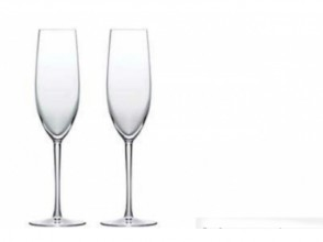 [Chiba sandblasting] challenge to champagne pair glass making Parone! Image of