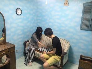 """[東京池袋]在市中心體驗真正的封閉房間逃脫遊戲!該形象""""的夢想邊界。""""[難度級別★★]"""
