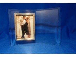 【千葉・サンドブラスト】ガラスのフォトフレームに思い出の写真を飾ろう!の画像