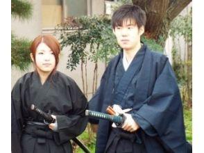 [Osaka Sennan] Couples deals samurai experience plan! Samurai spirit will learn! Image of