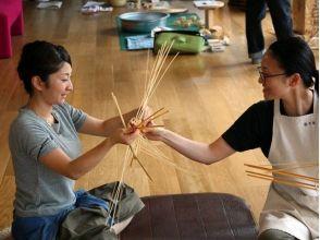 【大分・別府】伝統の「竹細工」を自分で作ってみよう!竹あそびも出来ます!