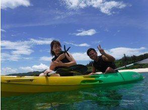 [冲绳/备濑]去美丽的大海♪推荐家庭的海上皮划艇体验! !!