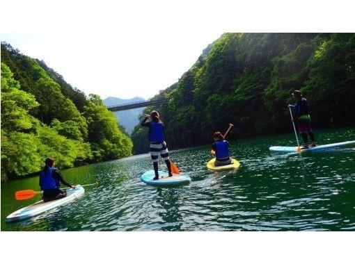 【奥多摩レイクSUP】湖でのんびりチルアウト