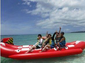 [Sesoko岛/香蕉船]在美丽海水族馆附近可以开车到达的偏远岛屿! !!便宜的海洋2包