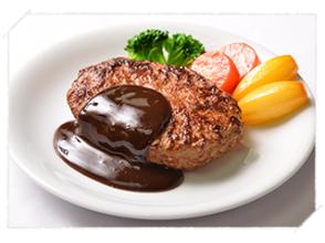 【岐阜・白鳥】おいしそうな食品サンプルを作ってみよう!「ハンバーグ(単品・セット)」食品サンプルの工房も見学OK!