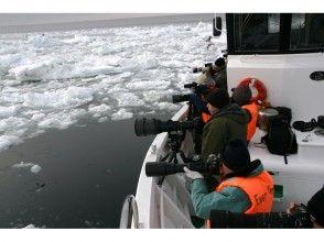 【北海道・知床】冬の知床で圧巻の風景に出会う!流氷クルージング&バードウォッチング(撮影コース)