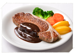 [Gifu · Swan] Let's make a delicious food sample by yourself! <Steak (single item / set)> image