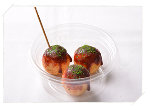 [Gifu swan] a mouth-watering food samples Let's make your own! Image of <takoyaki>