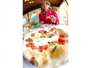 [Hyogo / Okugami hot pot] Lunch is a special stone kiln pizza ♪ ≪ Forest Adventure ≫ Forest adventure!