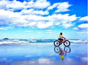 [Tottori Prefecture, Tottori] Japan only! Cycling the Tottori Sand Dunes in the thick tire! Image of