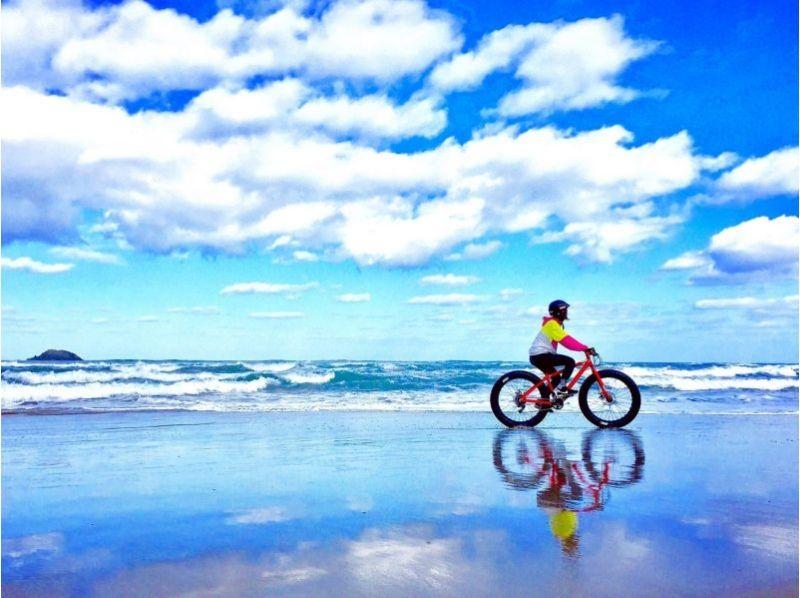 【鳥取県・鳥取市】日本唯一!鳥取砂丘を極太タイヤでサイクリング!の画像