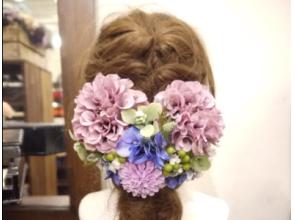【神戸・三宮】この世にたったひとつのお花のブライダルアクセサリーを手作りしよう!の画像