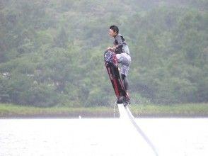 [Lake Yamanaka] Flying surfing! Hoverboard (1 set 15 minutes) [PM]