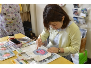 [沖繩那霸]生動的色彩和有吸引力的!圖像的琉球Bingata經驗