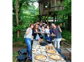 [Shizuoka Izu] topping is free! Image of the stone oven pizza baked experience