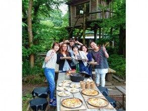 [Shizuoka ・ Nakaizu] Over Amagi & near Joren Falls! OK empty-handed! Ishigama pizza baking experience. 6 people at more, one Dutch oven chicken roasting service!