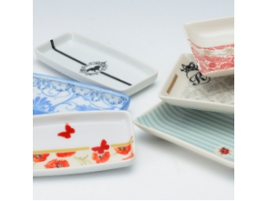 【Tokyo · Gotanda】 Let's make original tableware at Porselaats <Small plate 2 kind course> image