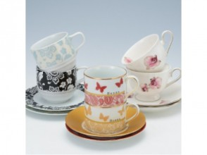 【Tokyo · Gotanda】 Let's make original tableware with porcelain <Image of cup & saucer course>