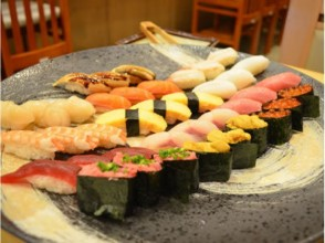 【Asakusa / Tsukiji】 Sumidagawa Cruise & Hamarikyu Gorge Garden and Tsukiji Grip Sushi 13 all-you-can-eat! [3559]